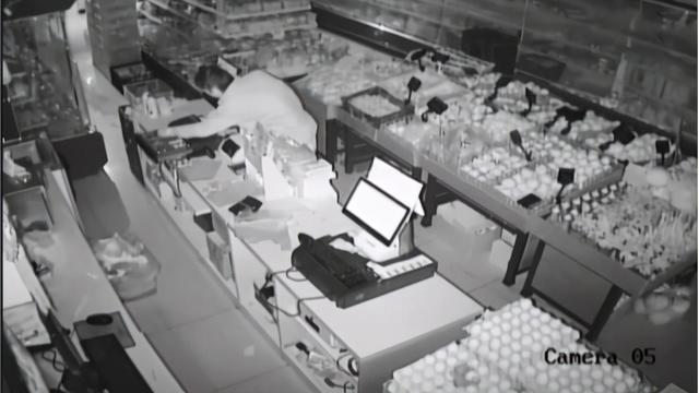 专偷超市、便利店,年底沿街店铺防盗别大意,必要时安装摄像机