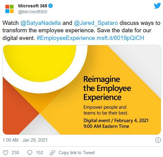 微软将于未来几个月密集举办Windows、游戏以及云技术特别发布会