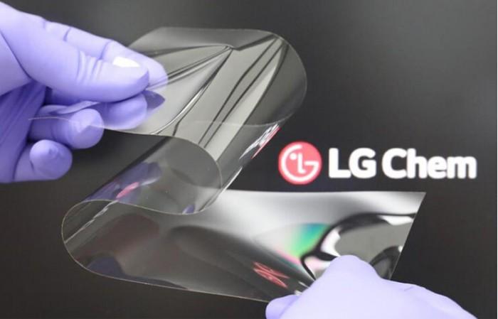 LG造造了一种新的可折叠显示器 硬度和玻璃一样还削减了折痕