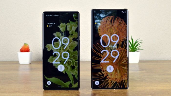 Google发布Pixel 6/Pixel 6 Pro,哪一款更合适你?